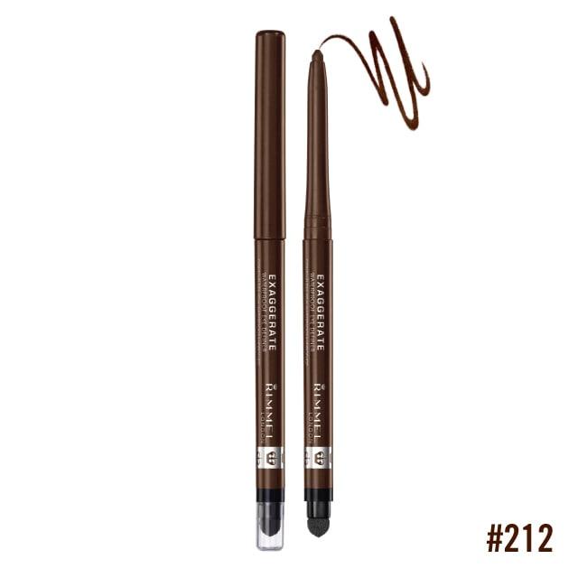 倫敦芮魅一筆搞定防水眼線膠筆 (212 咖啡) 0.3g