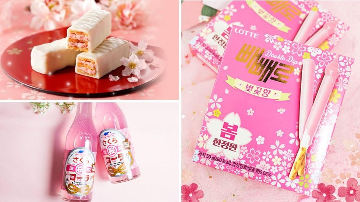 除了 Lady M 玫瑰千層蛋糕,這 7 款櫻花甜點更適合賞