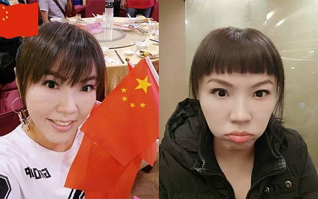 ▲劉樂妍被許多網友狠酸是「舔共女星」。(圖/翻攝劉樂妍微博、臉書)