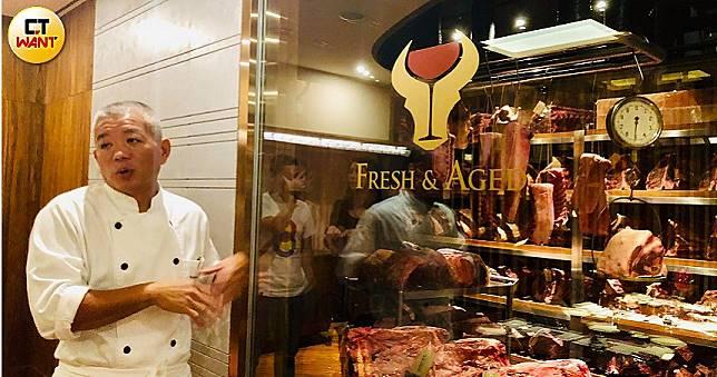 牛排教父陳重光打造全台首座餐廳內專業級乾式熟成室 美國牛、極黑豬、櫻桃鴨的熟成過程全都露