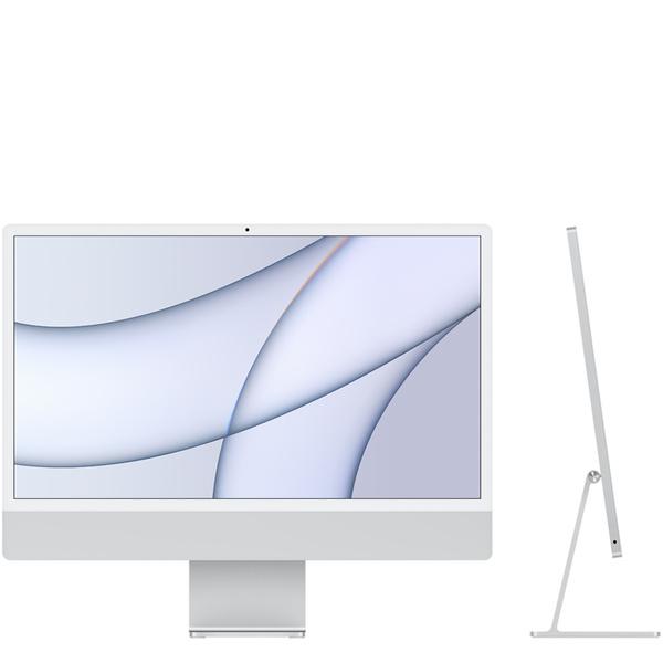 24 吋銀色 iMac 配備 4.5K Retina 顯示器 -