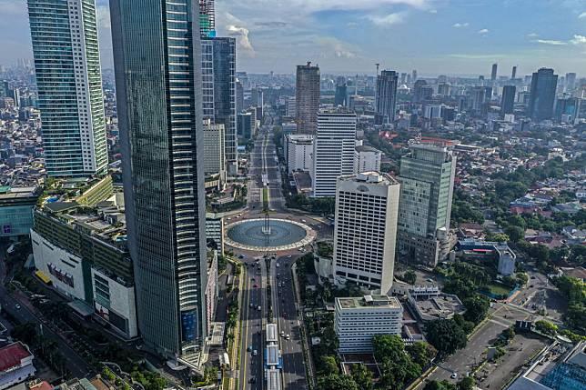 Ilustrasi Jakarta. ANT/Galih Pradipta