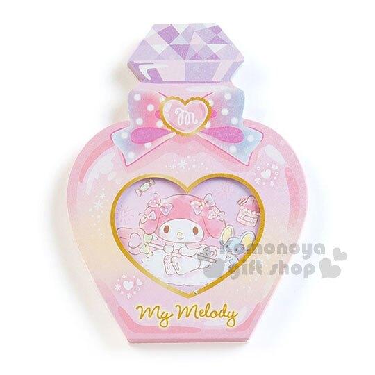 〔小禮堂〕美樂蒂 日製造型香水便條本《粉.老鼠》3種圖案.便條紙