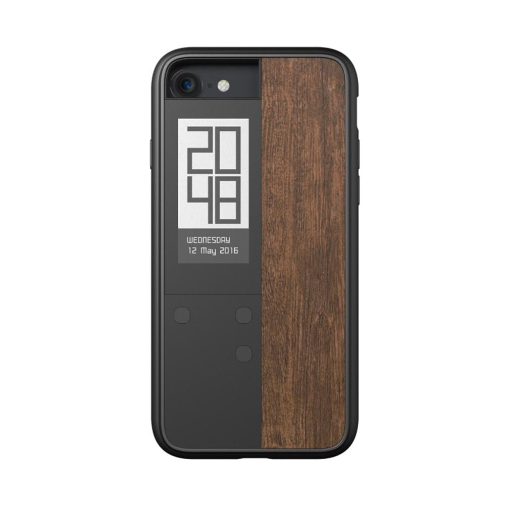 《商品特色》 ・多功能專屬App,可管理電子書、顯示QR code、活動折扣條碼、時間、等重要資訊 ・世界上第一支讓手機擁有雙螢幕的手機殼 ・iPhone 7 手機殼搭配E Ink電子墨水技術,讓待辦