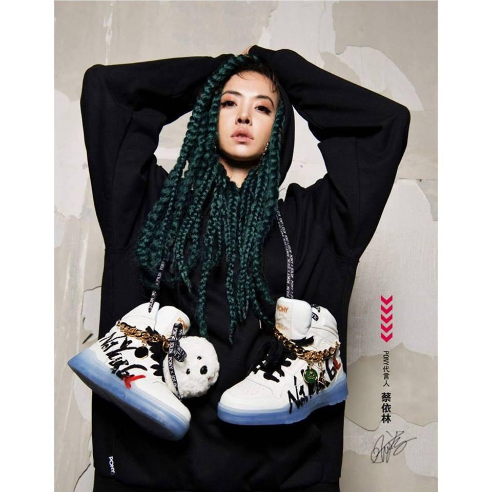 【PONY x JOLIN 合作款】美式街頭塗鴉復古籃球鞋(白) - 男女款