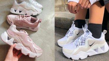 台灣終於有賣了!孫芸芸穿紅的 Nike RYZ 365「鋸齒鞋」出新色:乾燥玫瑰 vs 蘋果綠妳選誰?