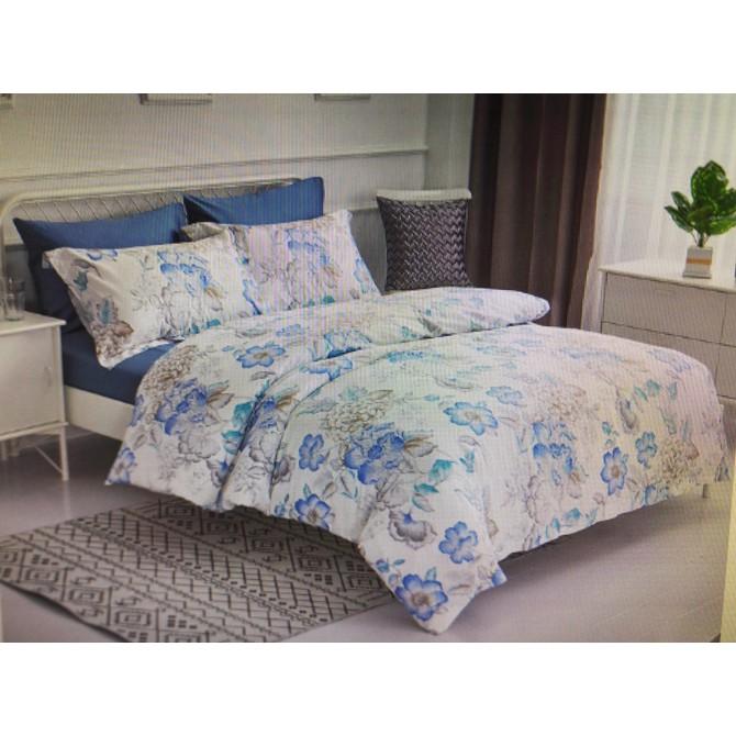 Don Home 雙人加大300TC純棉被套床包六件組 嵐花扶影 W122596 COSCO代購