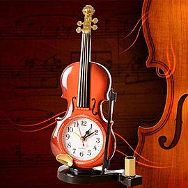 創意小提琴筆插鬧鐘n下單後約7-10個工作天. n大量採購者可以先買樣品再下有量的訂單