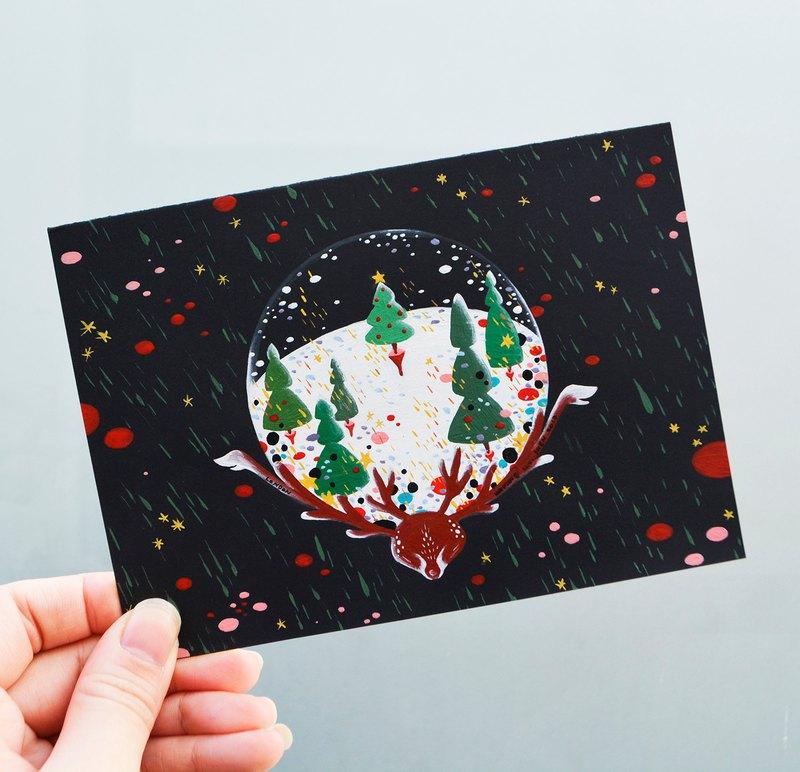獨特客製化系列 生日/情人節/結婚/聖誕節/母親節/教師節/訂婚/求婚/彌月/紀念日/新年/風景 手繪卡片