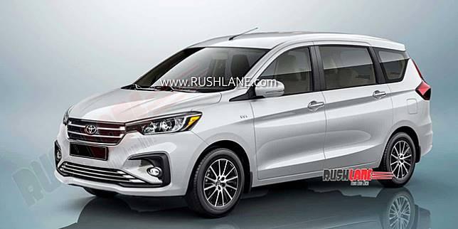 Render MPV Toyota berbasis Suzuki Ertiga (Rushlane.com)