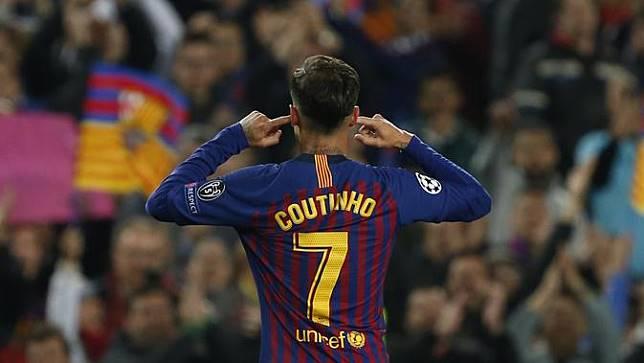 Coutinho Bantah Selebrasi Golnya Hina Fans Barcelona