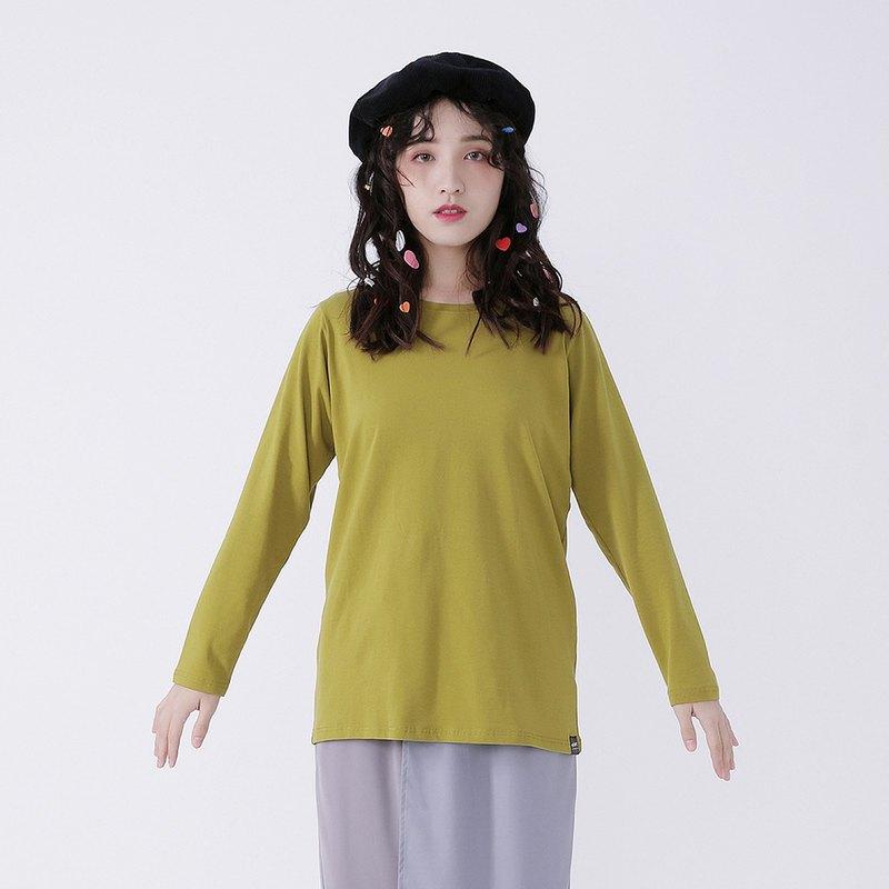 ▋作 品 設 計 說 明 ▋ 簡單的素色長袖T 當作內搭最適合不過了 今年冬天適合亮眼的色系