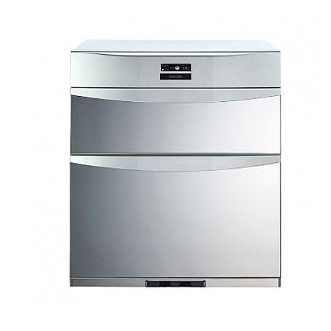 (含標準安裝)櫻花落地式熱風循環臭氧殺菌高68cm(與Q7592B同款)烘碗機銀色Q-759