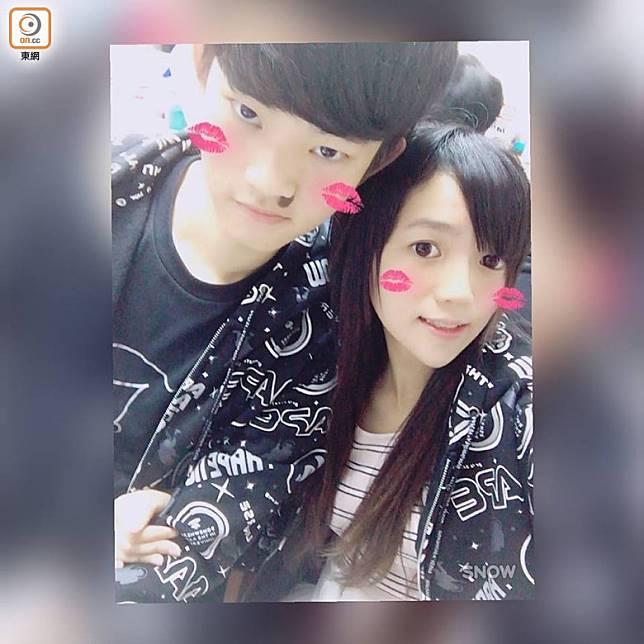港男陳同佳(左)涉在台灣殺害女友(右)後返港,事件引發修訂《逃犯條例》。