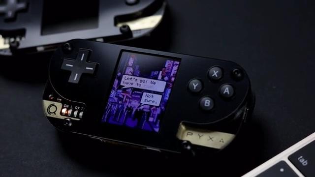 DIY遊戲主機Pyxa,多層次設計營造優雅外觀