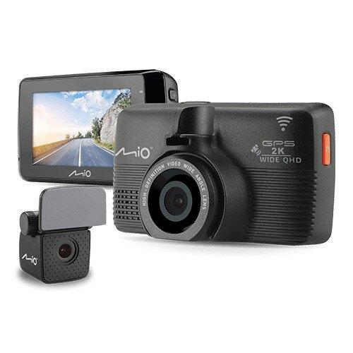 送32G卡+手機支架『 Mio MiVue 798+A40後鏡頭 = 798D 』2K畫質/WiFi星光級Sony Sensor+前後雙鏡頭行車記錄器+GPS測速器/紀錄器/145度。汽機車精品百貨人