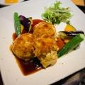テリヤキハンバーグ定食 - 実際訪問したユーザーが直接撮影して投稿した西新宿定食屋大かまど飯 寅福 ルミネ新宿店の写真のメニュー情報