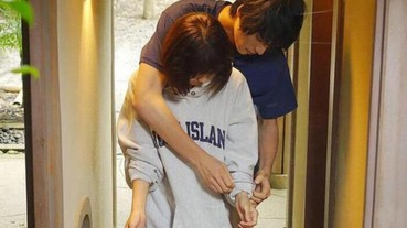 日本暖男的新招:從背後幫女生捲袖 理想身高差是 23 公分...