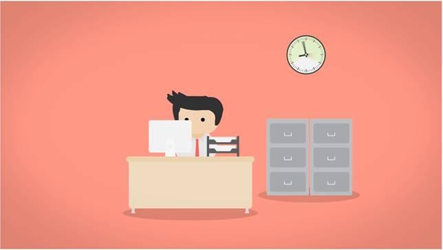 Kerja..kerja..kerja.. Ya, bekerja dari pagi hari dan pulang saat sore hari. Lama banget ya pulangnya!