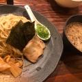 つけ麺 - 実際訪問したユーザーが直接撮影して投稿した西新宿ラーメン・つけ麺ラーメン龍の家 新宿小滝橋通り店の写真のメニュー情報