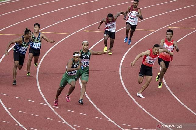 Hari terakhir perlombaan atletik perebutkan enam emas