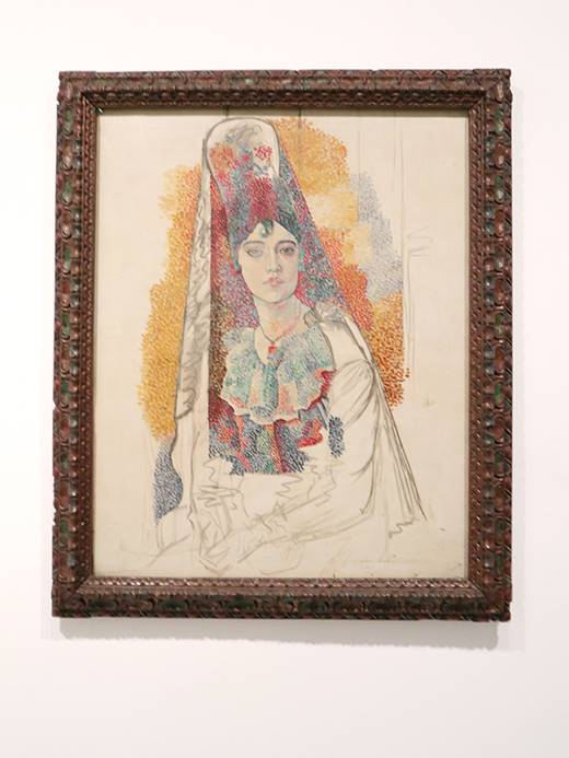 《Woman in a mantilla》(1917年)