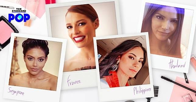 ส่องไอเท็มเด็ด พร้อมเก็บเคล็ดลับความสวยจากเหล่าสาวงาม Miss Universe 2019