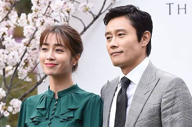 Lee Min Jung dan Lee Byung Hun