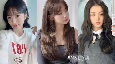 2020秋冬女星髮型圖鑑!辛睿恩、JISOO捲髮可愛,昆凌髮型比富江美艷,這款瘦臉必備!