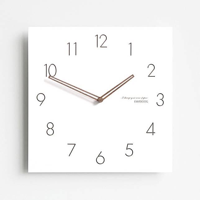 把一個正方形的時鐘放在家中東南位,有助加強偏財運。(互聯網)