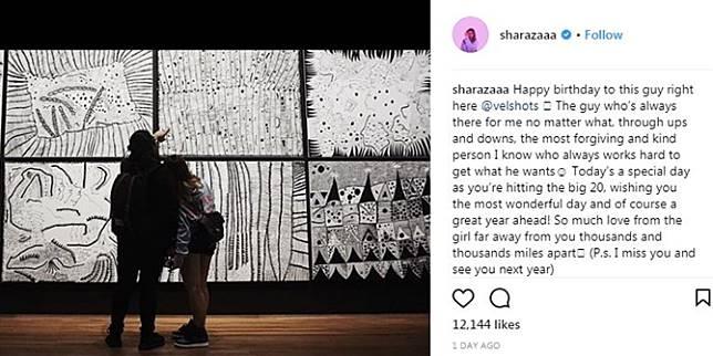 Pacar Ulang Tahun Shaloom Razade Tulis Kata Kata Romantis