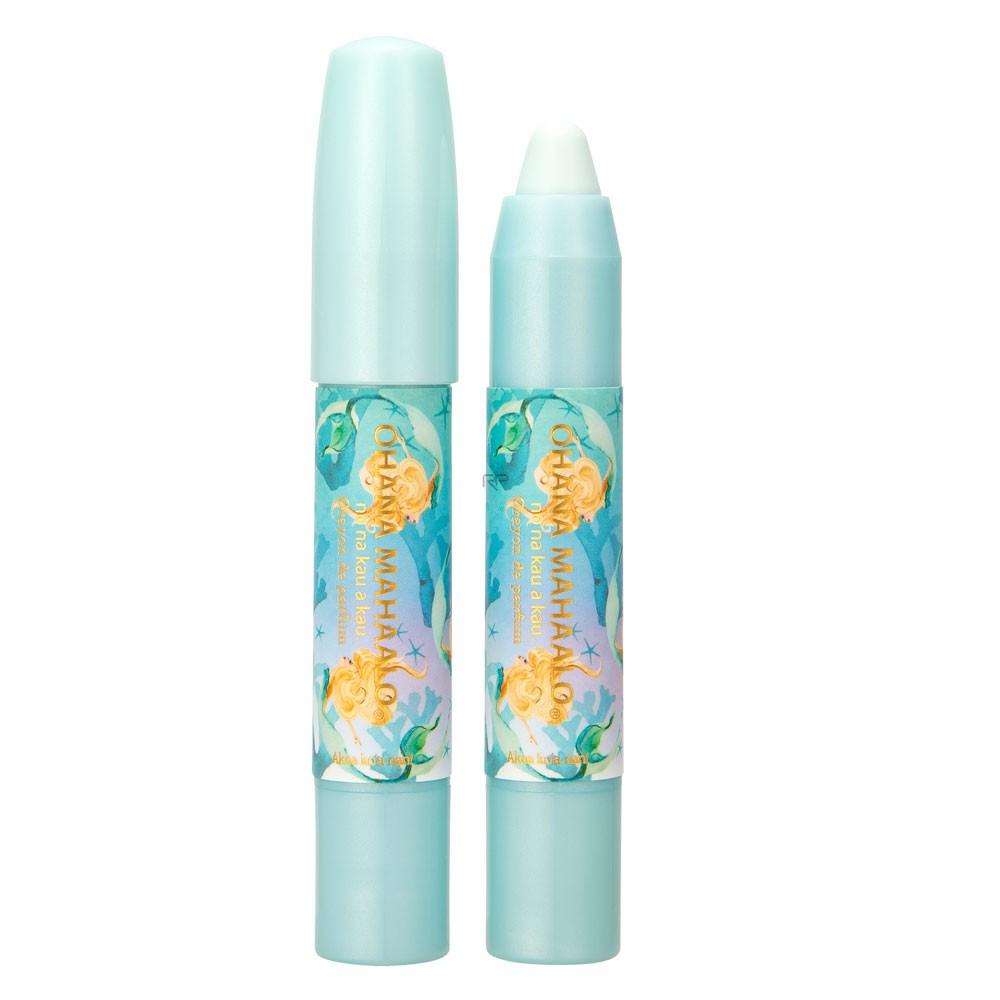 -給好奇的你- OHANA MAHAALO 藍海女神 筆漾香膏2.5g 香調:茉莉、柑橘、快樂鼠尾草 【商品介紹】 最具童趣的蠟筆設計,讓你用香氛揮灑塗鴉出自己獨特的香氣。 蠟筆形狀的設計在使用時完全