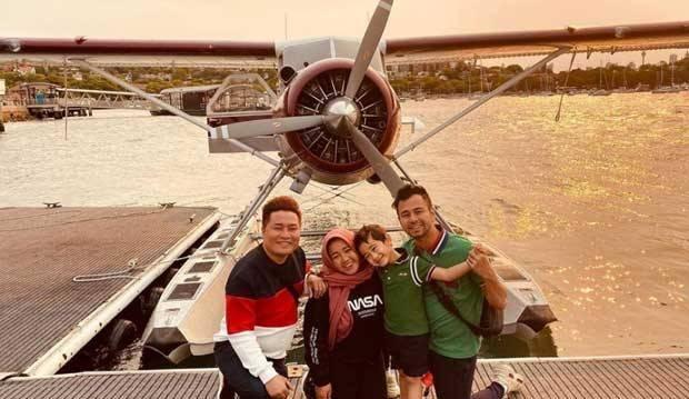 Baby Sitter Rafathar Ulang Tahun, Raffi Ahmad Ajak Keliling Sydney Naik Seaplanes