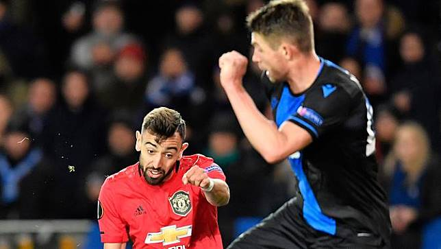 Club Brugge Vs Manchester United