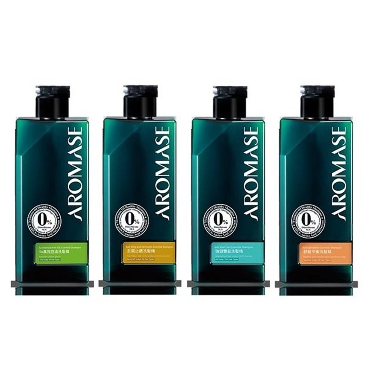 【Aromase 艾瑪絲】5a高效控油/去屑止癢/強健豐盈/舒敏平衡 洗髮精(高階版)90ml