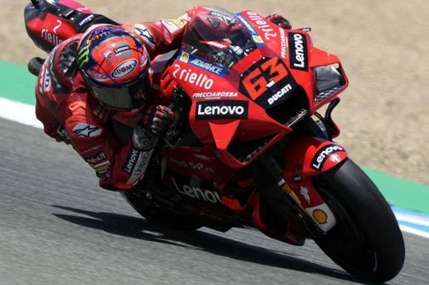 Bagnaia Incar Pole Position MotoGP Spanyol 2021