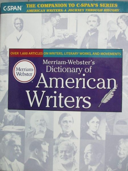 【書寶二手書T1/字典_YAT】Merriam-Webster s Dictionary of American...