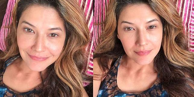 Tamara Bleszynski tanpa make up