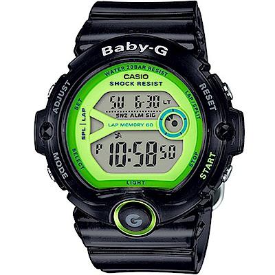 原廠公司貨共三種可愛繽紛果凍色彩選擇,半透明的錶殼和錶帶設計,創造出清爽效果搭載實用的60組碼錶記憶,可儲存經過時間、中途時間或第一名與第二名的時間差料號:BG-6903-1BDR