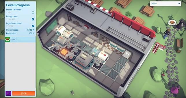 廚房模擬新作《Automachef》明日上架NS、Steam雙平台🍔🍟