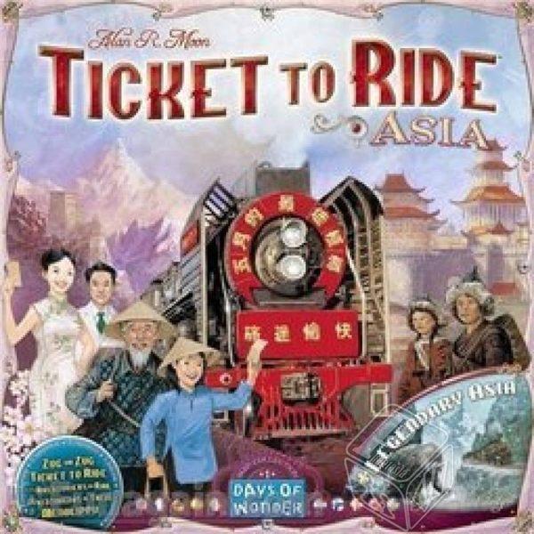此版本為 鐵道任務 : 亞洲擴充,屬於鐵道任務系列的一部份,無法單獨進行遊戲。
