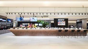 【直擊】鏡頭吧台、Studio 攝影棚!Sony Store 全台最大旗艦店遠百 A13 開幕