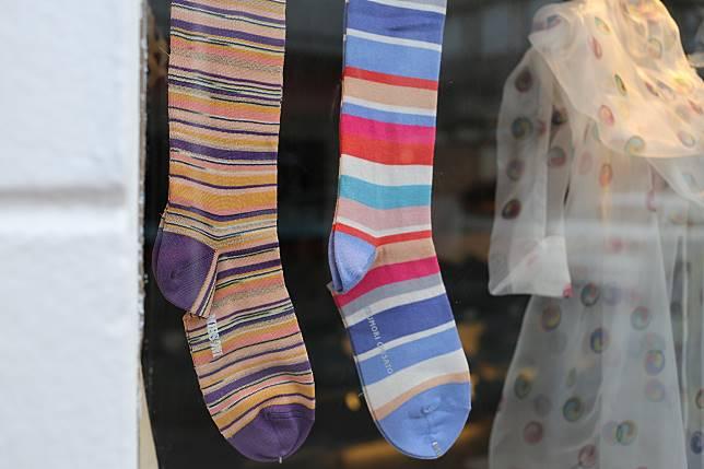 襪子示意圖
