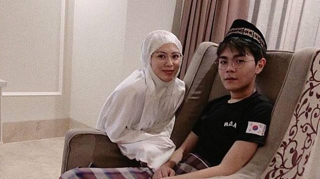 Ayana Moon dan adiknya, Aydin Moon (Instagram/@@xolovelyayana)