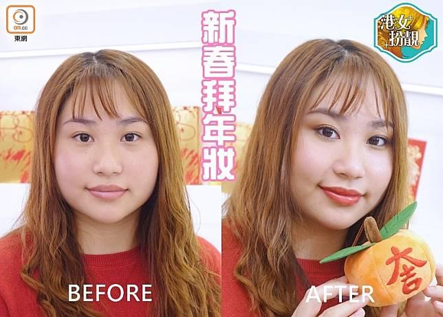 Before:面色明顯較蒼白無神。(胡振文攝)