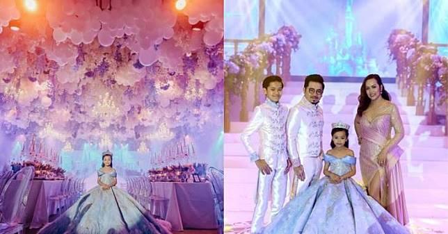 Jangan Ngiri, Ulang Tahun Bocah 7 Tahun Ini Dirayakan Mewah Layaknya Pesta Pernikahan
