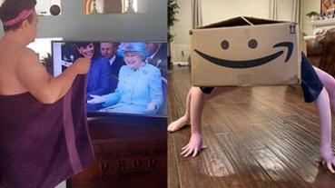 悶壞了?25張超爆笑「居家檢疫」照片,看看無聊是怎麼把人逼瘋的!