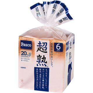 〈パスコ〉超熟 6枚切