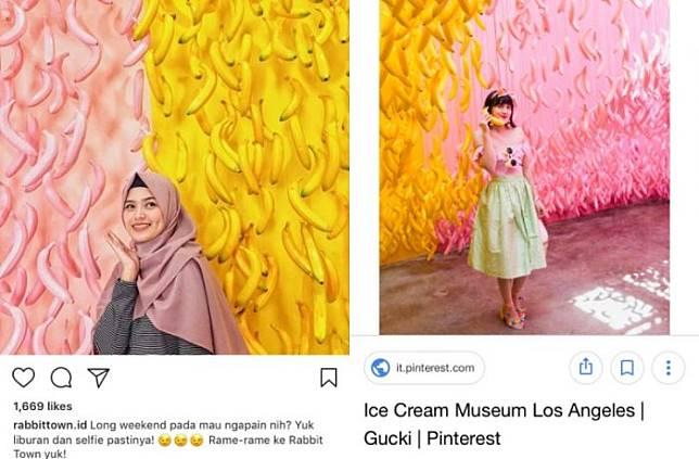 Lagi Rame Nih, Tempat Wisata Rabbit Town di Bandung Kabarnya Jiplak Karya Seni Seniman Mancanegara