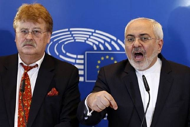 Tiga kekuatan Eropa dukung AS salahkan Iran atas serangan di Arab